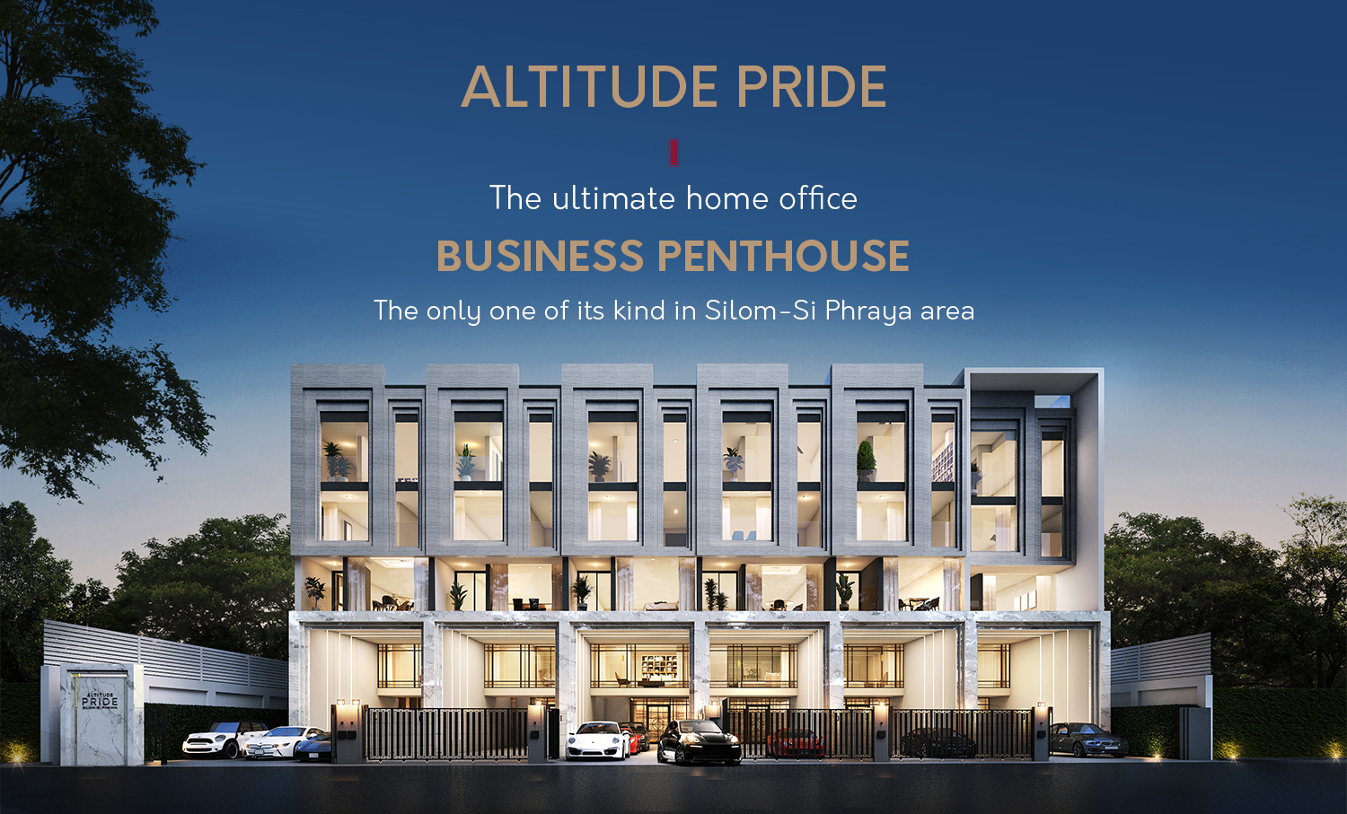 Altitude Pride -  The Ultimate Home Office, Business Penthouse. The only one of its kind in Silom -  Si Phraya area